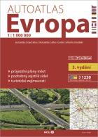 Autoatlas Evropa 1:1 000 000, Foto: Archiv Vydavatelství MCU s.r.o.
