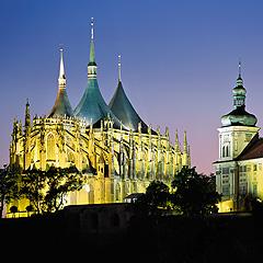 Kutná Hora - chrám sv. Barbory, Foto: Archiv Vydavatelství MCU s.r.o.