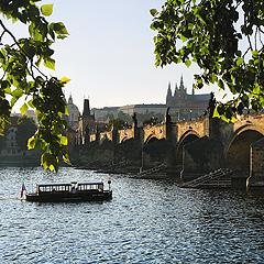 Praha - Karlův most ze staroměstského břehu, Foto: Archiv Vydavatelství MCU s.r.o.