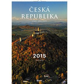 Nástěnný kalendář Česká republika letecky