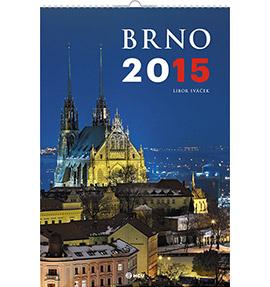 Nástěnný kalendář Brno