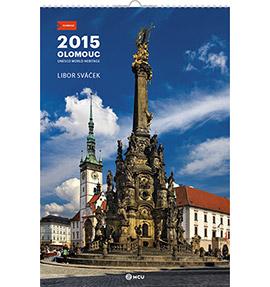 Nástěnný kalendář Olomouc