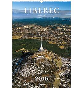 Nástěnný kalendář Liberec