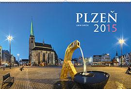 Nástěnný kalendář Plzeň