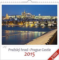 Pohlednicový kalendář Pražský hrad