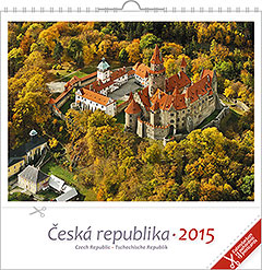 Pohlednicový kalendář Česká republika