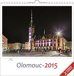 Pohlednicový kalendář Olomouc