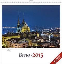 Pohlednicový kalendář Brno