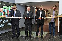 Slavnostní otevření časové osy pro Vzdělávací centrum Škoda Auto Na Karmeli v Mladé Boleslavi
