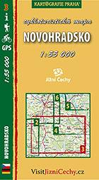 Novohradsko, cykloturistická mapa 1 : 55 000