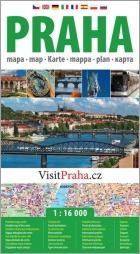 Praha, městský plán