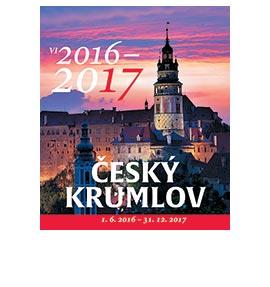 Nástěnný kalendář Český Krumlov 1.6. - 31.12.2017