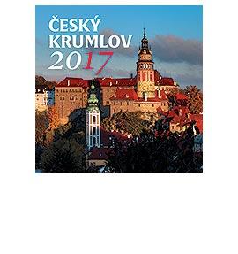 Nástěnný kalendář Český Krumlov 2017