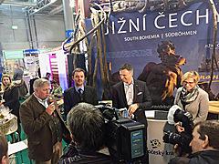 Křest knihy Jižní Čechy na veletrhu GO Brno 2017