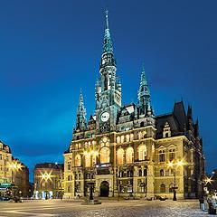 Liberec - radnice je jedním ze symbolů města, Foto: Archiv Vydavatelství MCU s.r.o.
