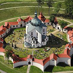 Kostel sv. Jana Nepomuckého na Zelené hoře u Žďáru nad Sázavou, Foto: Archiv Vydavatelství MCU s.r.o.