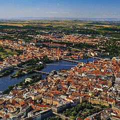 Praha letecky, Foto: Archiv Vydavatelství MCU s.r.o.