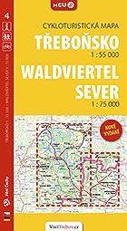 Třeboňsko, cykloturistická mapa 1 : 55 000, Foto: Archiv Vydavatelství MCU s.r.o.