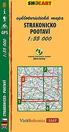 Strakonicko - Pootaví, cykloturistická mapa 1 : 55 000