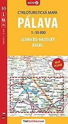 Pálava: Lednicko-Valtický areál, cykloturistická mapa 1 : 55 000